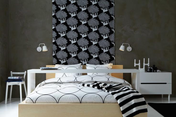 ikea sterreich inspiration textilien leuchte tisdag plaid eivor bettgestell malm kommode. Black Bedroom Furniture Sets. Home Design Ideas