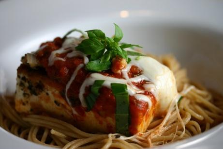 Skillet Tofu Parmigiana | Tofu Please! | Pinterest
