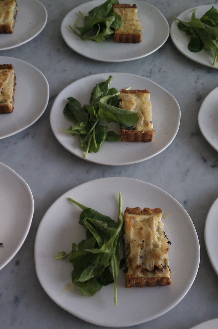 Swiss chard, pear, and gruyere tart | Chards | Pinterest