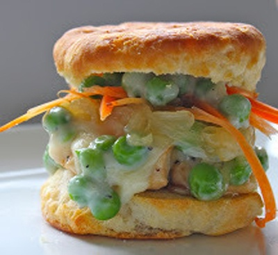 Chicken Pot Pie Sliders | Easter | Pinterest