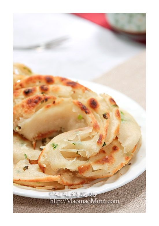 Chinese Scallion Pancake. NOM! | Food is all that matters. | Pinterest