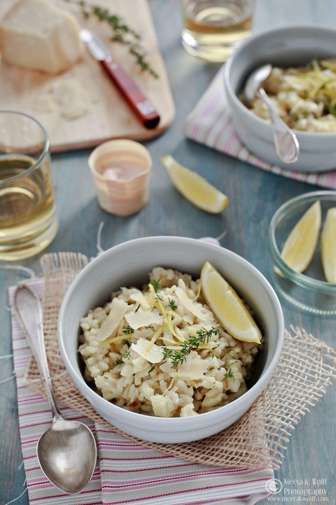 Lemon Thyme and Fennel Risotto | bon appetit | Pinterest