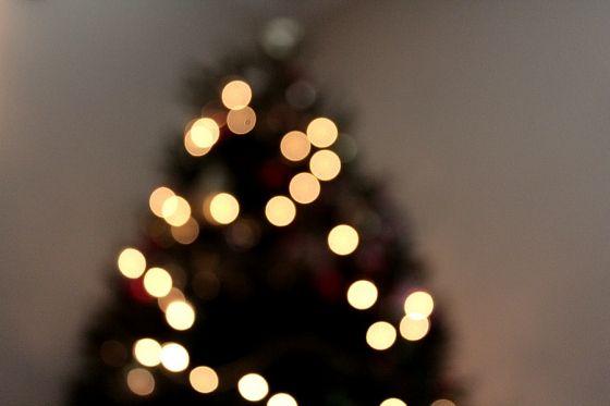 blurry christmas lights merry - photo #38
