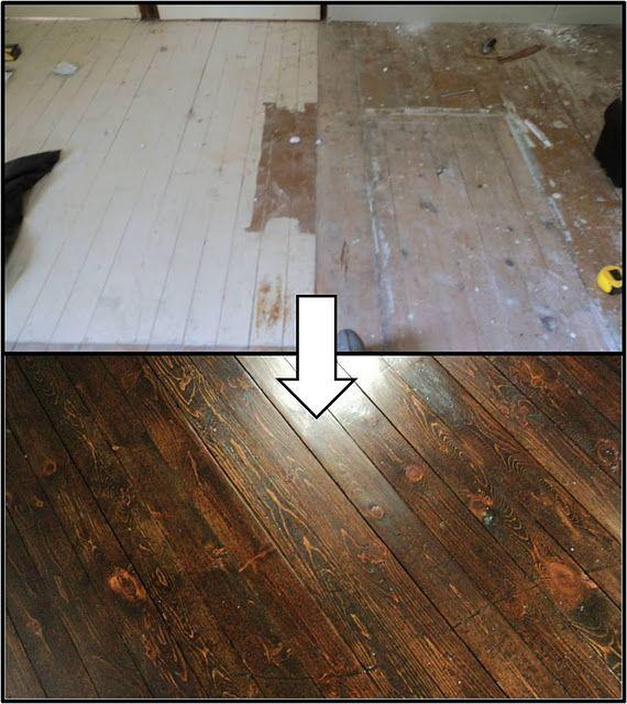 Refinishing Wood Floors For The Home Pinterest