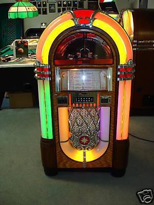 Wurlitzer 1015 Jukebox 45rpm Bubbler Antique Apparatus
