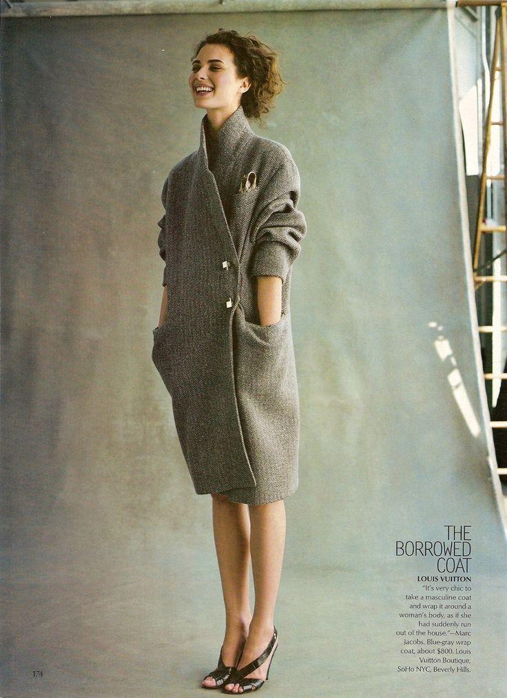 Love this Vuitton coat.