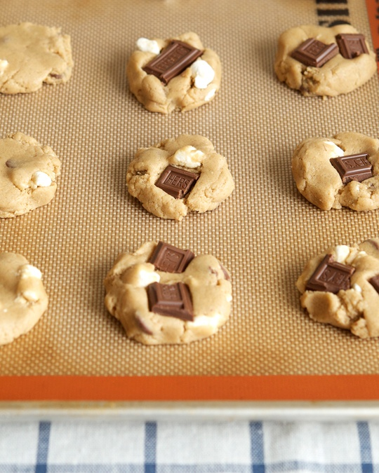 Whole Wheat S'more Cookies | Cookies & Bars | Pinterest