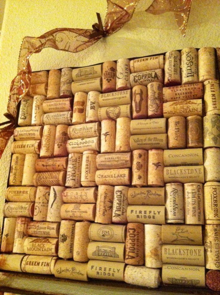 Wine Cork Board Ideas The Image Kid Has It