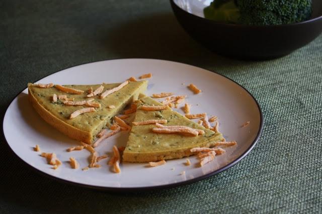 Broccoli & Cheeze Socca (V/GF). | Amazing Food Recipes | Pinterest