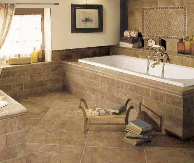 tile floors designs tile bathroom floor design