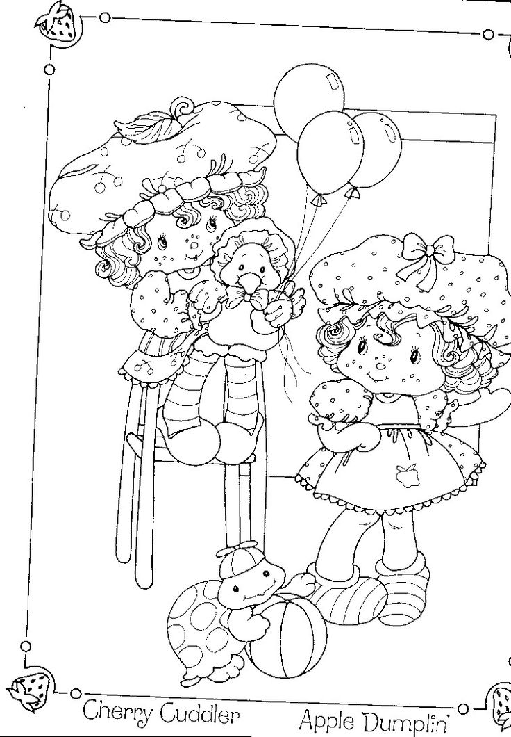 apple dumplin coloring page free printable coloring pages - 736×1060