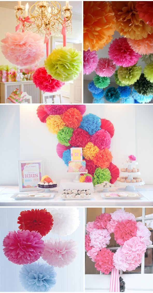Inspiração Pompom – Colorfull pompons