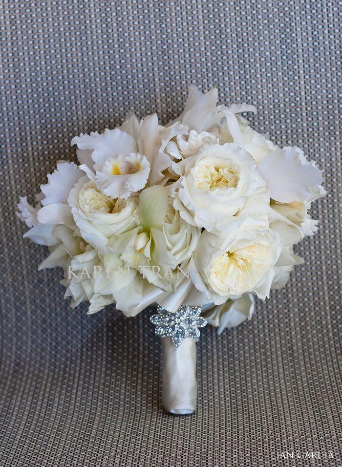 Elegant White Bridal Bouquet : Elegant bridal bouquet bouquets