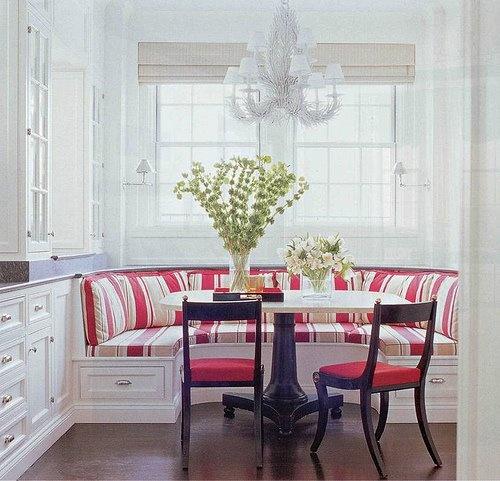 kitchen table booth kitchen ideas pinterest