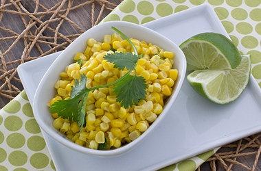 fresh corn saute with coconut milk amp sriracha punchfork