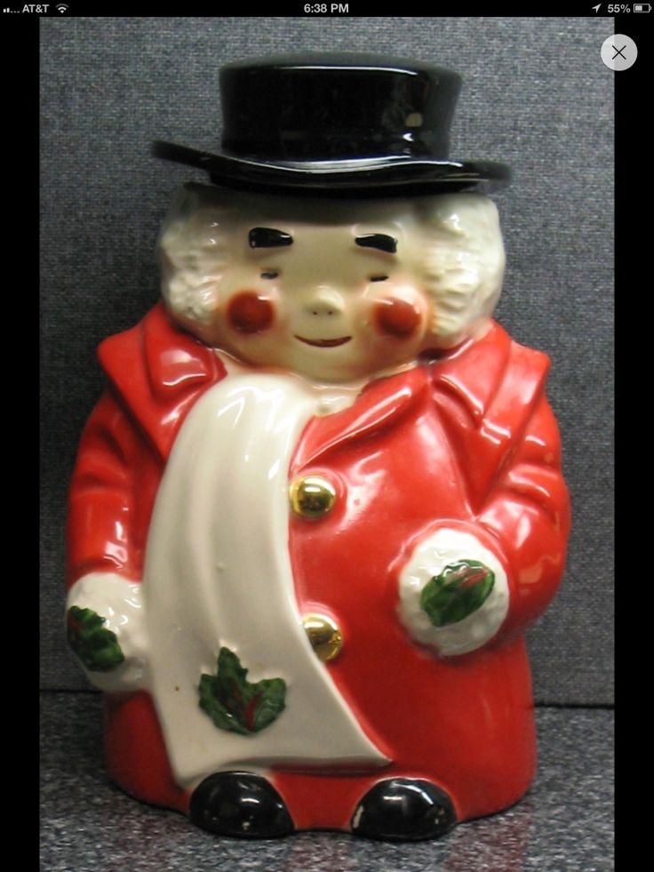 Marshall Field's Uncle Mistletoe cookie jar 1951 | UNCLE MISTLETOE AND ...