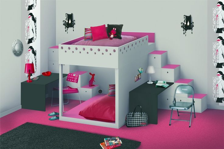 pin by popidi blanchet on chambre pour enfant pinterest. Black Bedroom Furniture Sets. Home Design Ideas