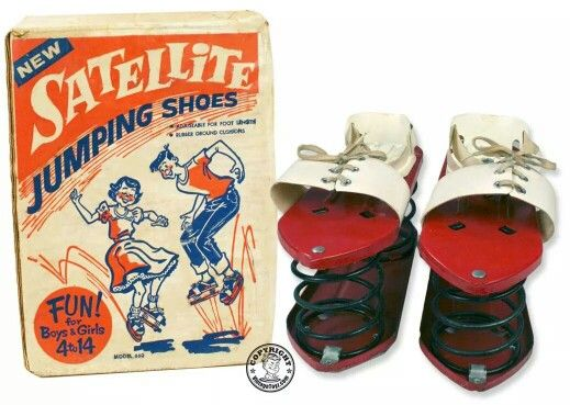 Jumping shoes 1960's