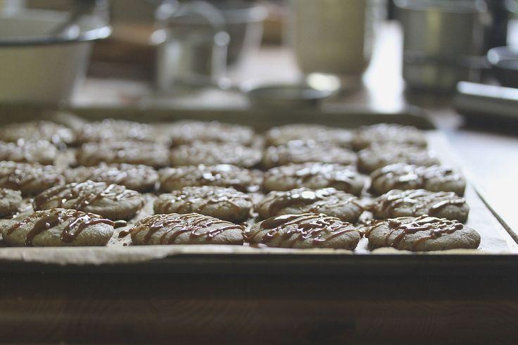 shortbread cookies shortbread cookies shortbread cookies walnut ...