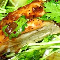 Seafood, Halibut With Rice Wine, Grilled Halibut Is Served With A ...