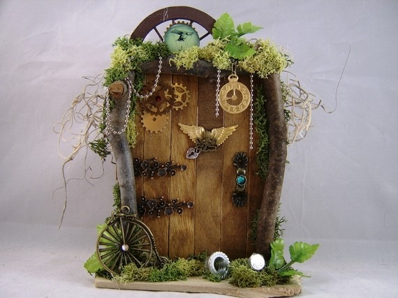 how to make a fairy garden door