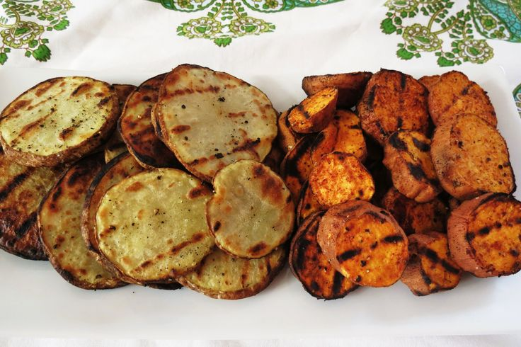 grilled potato chips! Healthy and tasty! I will try these as soon as I ...