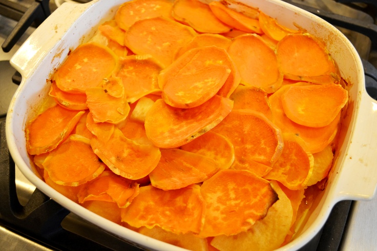 Sweet potato and apple casserole | Recipes To Try | Pinterest