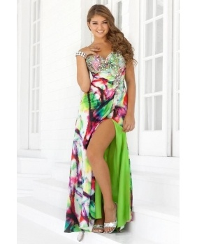 Prom Dresses Tie Dye - Holiday Dresses