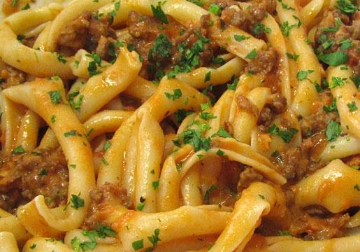 Pasta with Italian sausage sauce | Pasta Recipes | Pinterest