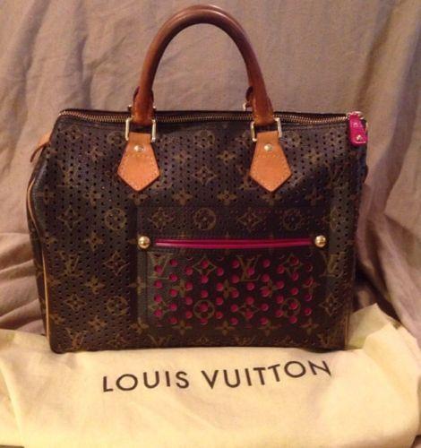 Louis Vuitton Perforated Speedy - 470 x 500  36kb  jpg