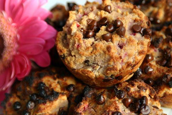 Chocolate Chip Raspberry Muffins | Breakfast | Pinterest