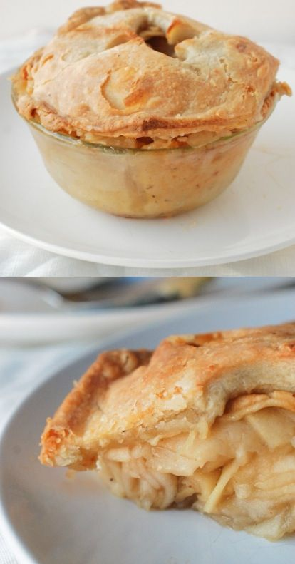 Rosemary-Cheddar Apple Pie | Sweets | Pinterest