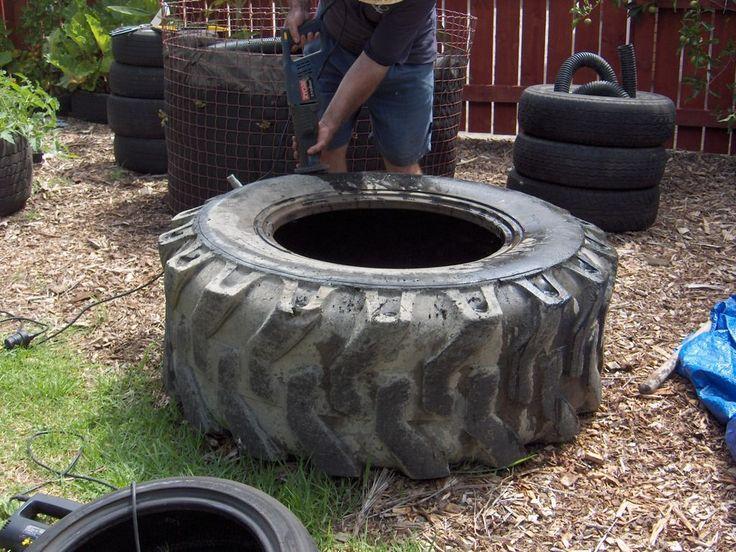 Tire Ponds Raised Bed Gardening Pinterest