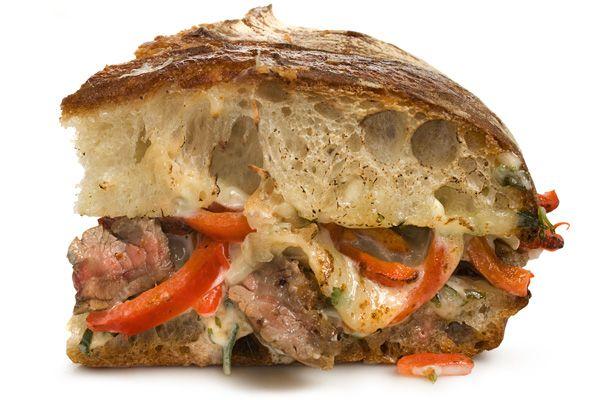 Bourbon Steak Sandwich