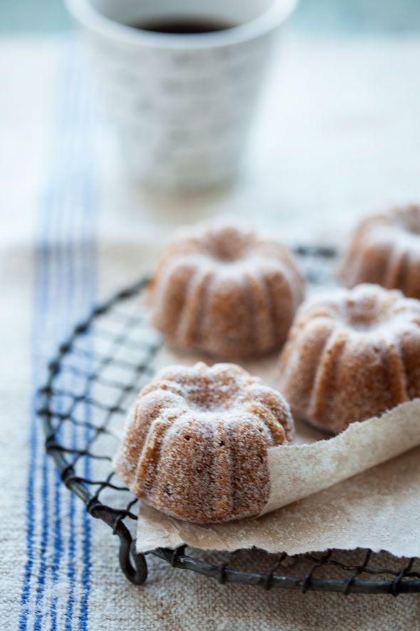 Pear, Hazelnut and Brown Butter Cakes | Beautiful Food & Drink | Pint ...