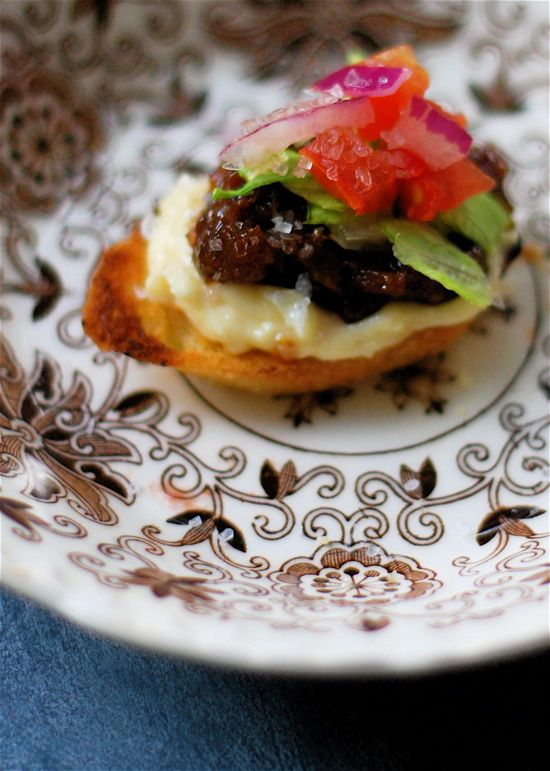bacon jam, lettuce and tomato bruschetta | Breakfast and Brunch Ideas ...