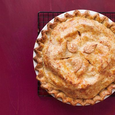 Cheddar Crusted Apple Pie Recipe - Woman's Day