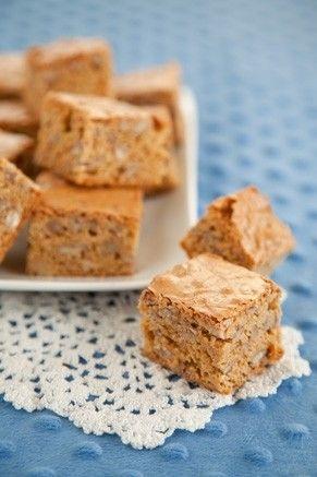 Paula Deen Pecan Squares | Recipe