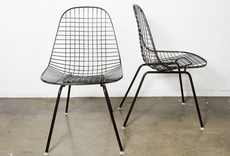 Eames Wire Chair Offices Pinterest