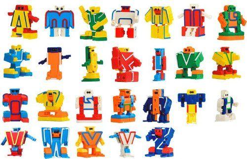 ABC Robo Alpha bot 26 pieces BOX (japan import) Devil Mountain