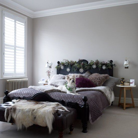 Mauve And Grey Bedroom 1 Pinterest