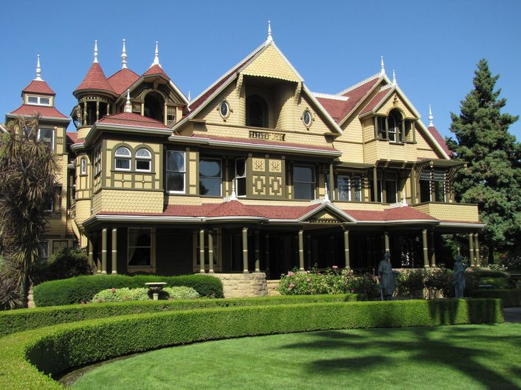 Winchester Mystery House in San Jose, California.