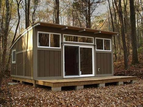 Image For 12 39 X 16 39 Tiny House With Shed Roof Pinterest