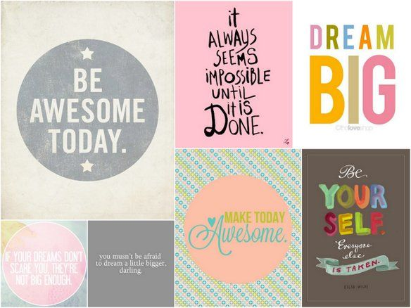 Encouragement Posters