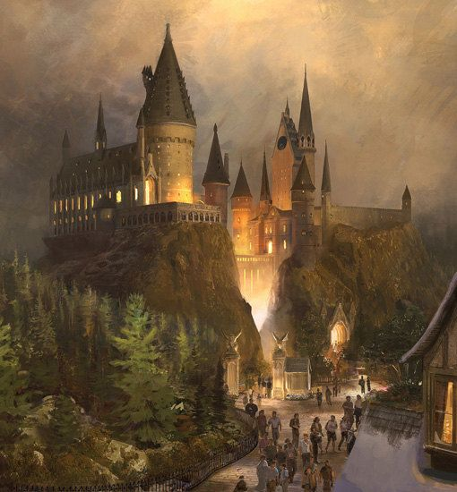 wall sticker mural harry potter world hogwarts decole poster wall mural hogwarts school of witchcraft and wizardry