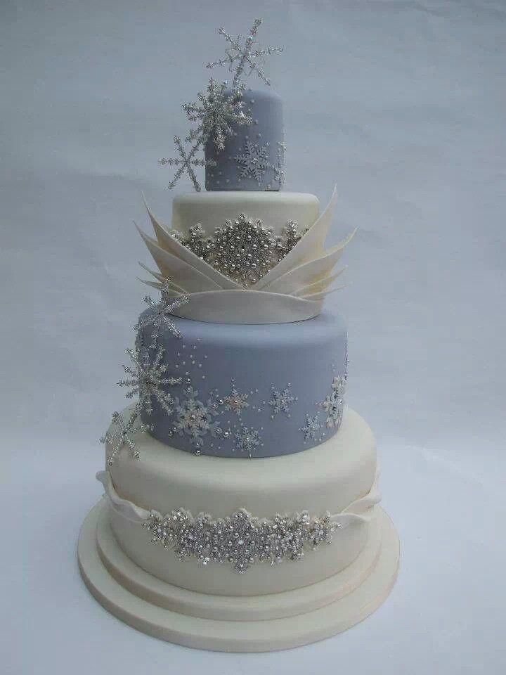 Winter Wedding Cake Design Ideas : Winter cake Wedding Ideas for whoever Pinterest