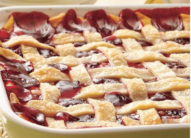 Apple-Raspberry Cobbler / Pop a warming dessert into the oven in 10 ...