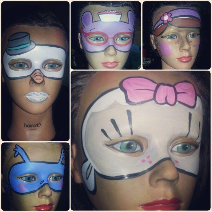 Doc Mcstuffin Face Paint Ideas