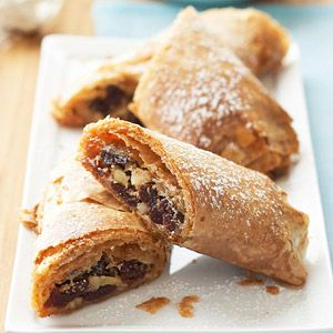 Cranberry and Orange Strudel. Serve this flaky, fruit-filled pastry ...