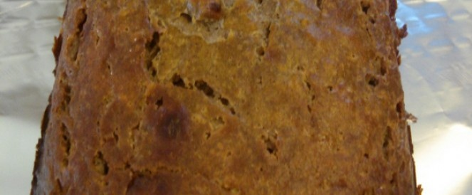 Grainless, Sugarless, Diary Free Zucchini Bread